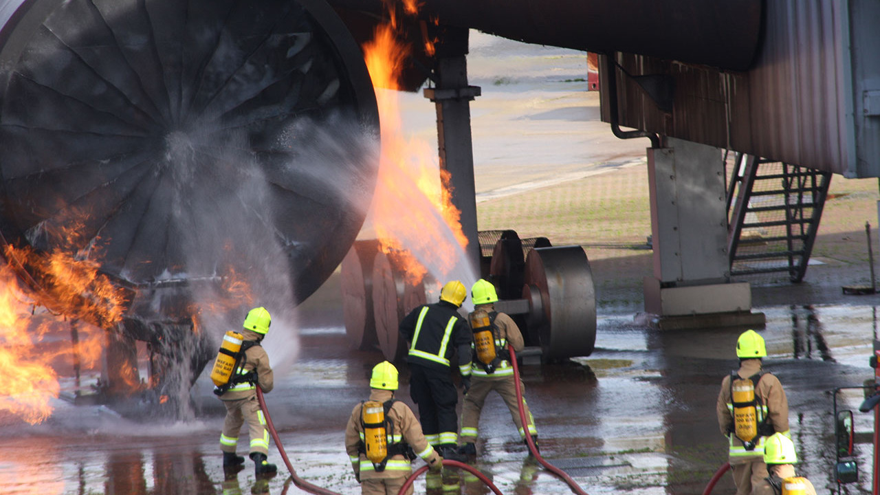 Gatwick Fire Firefighter Training