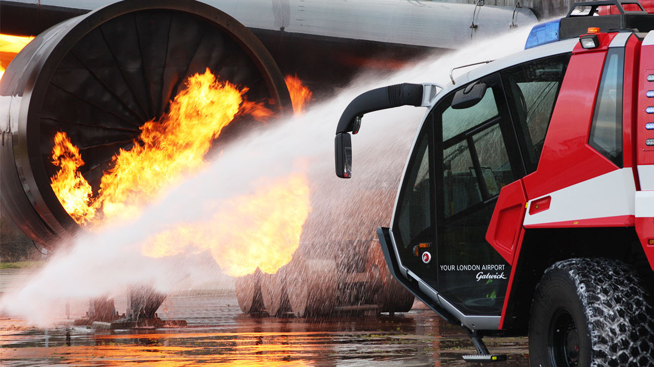 Gatwick Fire Training